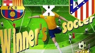 atlético de madrid x  barcelona - winner soccer evolution elite