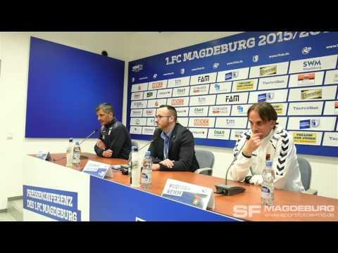 Pressekonferenz - 1. FC Magdeb…