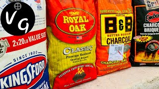 B&B Charcoal vs Kingsford Charcoal vs Royal Oak Charcoal vs Embers Charcoal Review - Best Charcoal