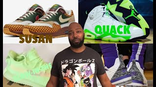 "KICKTALK EP. 6: NIKE AIR MAX SUSAN ""MISSING LINK"" ADIDAS YEEZY BOOST 350 V2 GLOW-IN-THE-DARK & MORE"