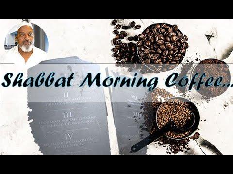 Shabbat Morning Coffee - 10/2/21 My Story Part 1