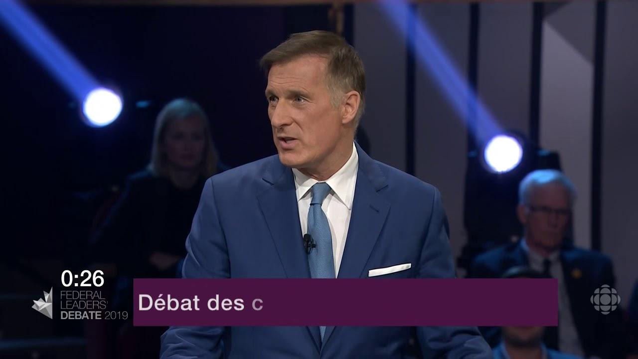 Maxime Bernier répond à la question d'un citoyen sur le Canada dans le monde