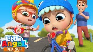 Das Fahrrad-Lied | So lernt ihr Radfahren | Little Angel Deutsch