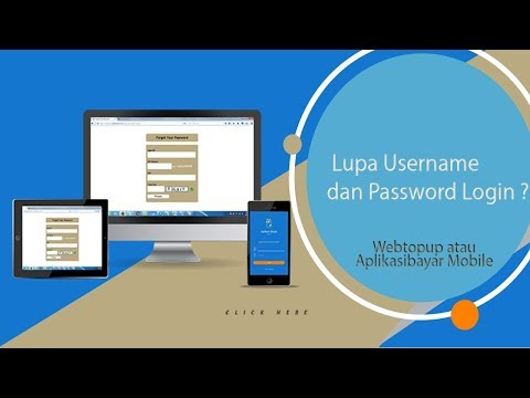 Lupa Username dan Password Login ?