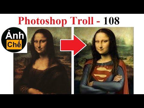 💥Ảnh Chế  Mona Lisa (P 108) , Photoshop Trolls, Fjamie013