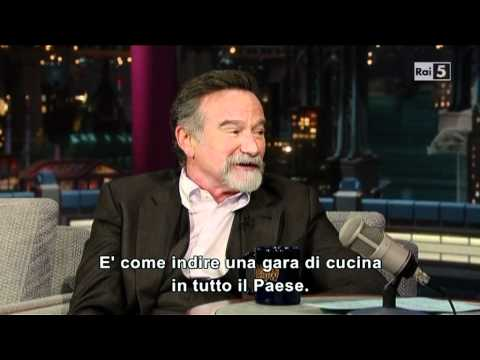Robin Williams da Letterman