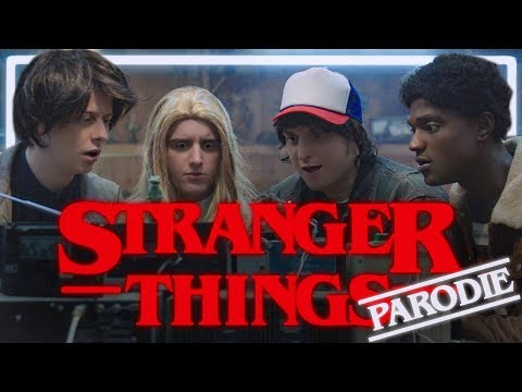 Parodie na Stranger Things