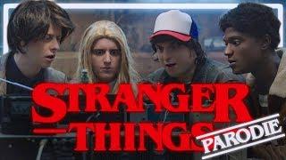 Finn Wolfhard, Lucas McLaughlin et Gaten Matarazzo dans une vidéo parodie de Norman.