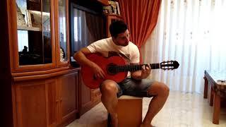 Luna lunera. Estopa. Guitarra
