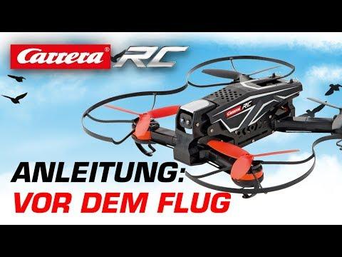 Carrera RC Quadrocopter - Vor dem Flug (Race Copter)