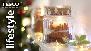 How to make a cinnamon candle for Christmas