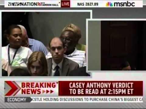 Meg Strickler on MSNBC on July 5, 2011, discussing Casey Anthony verdict