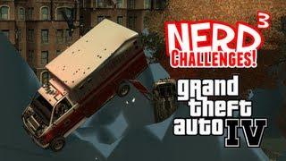 Nerd³ Challenges! Tsunami! - GTA IV