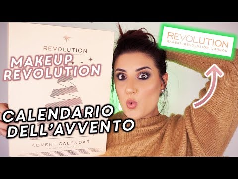 CALENDARIO DELL'AVVENTO MAKEUP REVOLUTION 2018 🎁