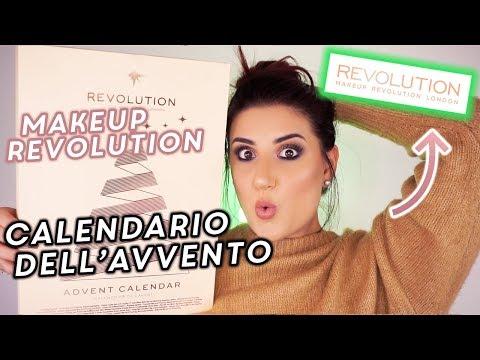 CALENDARIO DELL'AVVENTO MAKEUP REVOLUTION 2018 🎁