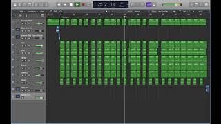 Lil Pump - Boss Instrumental Remake on Logic Pro X (Stock Plugins Only) (Free File DL)