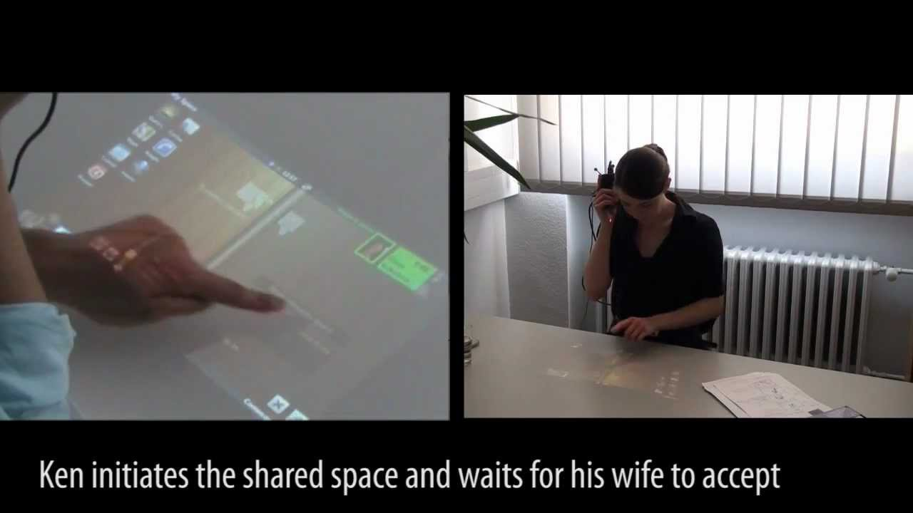 Projector Phone: Talk And Touch At The Same Time