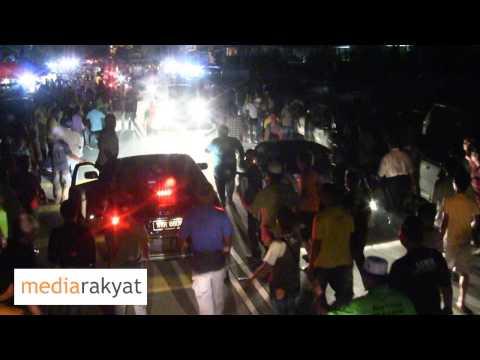 Bas MerdekaRakyat Di Serang Lagi, Kali Ini Di Kuala Krau Pahang