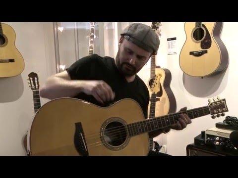 חוויה חדשה לנגינה על גיטרה אקוסטית מ-Yamaha