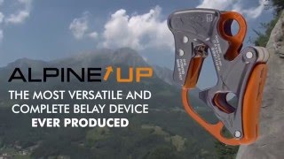 ALPINE UP English Revolutionary Belay Rappel Device From Climbing Technology