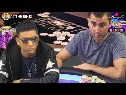 Ryan Feldman Turns a Pair Into a Bluff ♠ Live at the Bike!