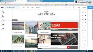 Membuat Website Gratis Dengan Mudah 5 Menit Jadi Dengan WIX