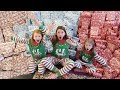 Download Video CHRISTMAS MORNING SPECIAL OPENING PRESENTS - SISTERS BIGGEST SURPRISE EVER!