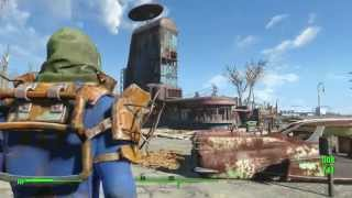 Fallout 4 - Starlight Drive-in Radiation Fix (SIMPLE)