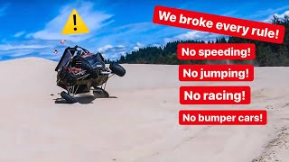 ALEX CHOI WENT TOO FAR BREAKING EVERY... *OREGON DUNES*