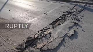 Grecja: Trzęsienie ziemi o magnitudzie 6,3 powoduje spustoszenie w Tesalii