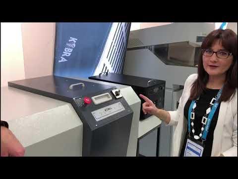 Video of the KOBRA HDD Hard Disk Drive Shredder Shredder