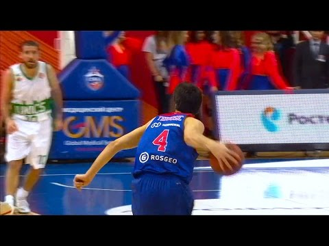Milos Teodosic's Flashy Assists