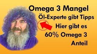 Omega 3 Mangel und Öle auch bei Robert Franz