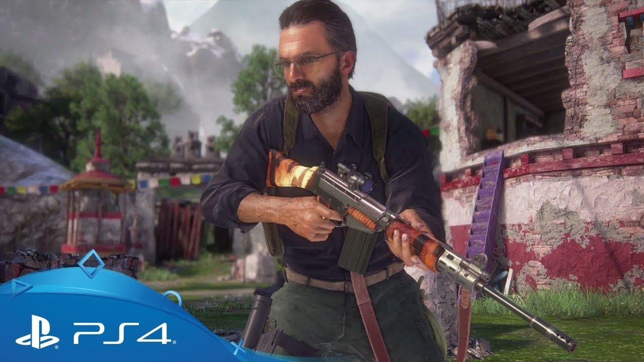 Une mise à jour Uncharted: The Lost Legacy arrive dans le multijoueur d'Uncharted 4