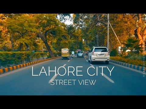 LAHORE City Street View - Expedition Pakistan