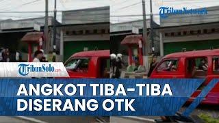 Viral Video Perusakan Angkot di Cianjur, Sopir Sempat Dicegat Sekelompok Orang Tak Dikenal