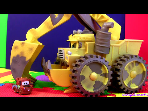 Cars 2 Screaming Banshee Tipping Colossus Micro Drifters Monster Truck Disney Pixar Cars Toons