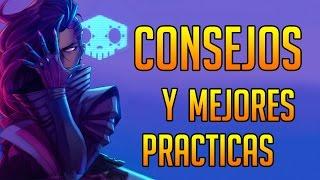Consejos y MEJORES PRÁCTICAS con SOMBRA - GAMEPLAY Overwatch en Español