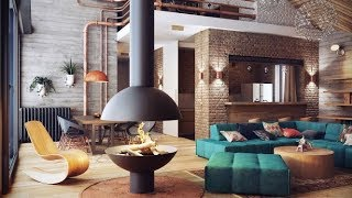 Ideas For Industrial Living Room Design
