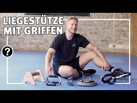 Liegestütze mit Griffen richtig ausführen | Tipps & Tutorials | Sport-Thieme