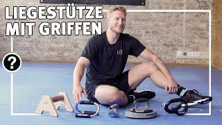 Liegestütze mit Griffen richtig ausführen | Fitness & Kraftsport | Sport-Thieme