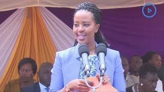 Machakos' first lady has today called for more empathy and love