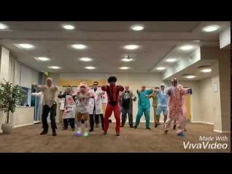 Thriller Stag Do Party Dance Class in Cardiff - fun stag do activities and ideas!