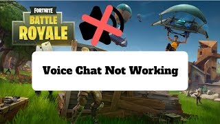 Chat de voz microfone no funciona voice chat dont work how to fix fortnite voice chat can ccuart Images