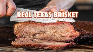 How To Make Texas Smoked Brisket Properly