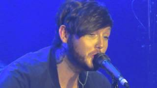 James Arthur - Smoke Clouds. 14.04.2014 in Amsterdam, Netherlands.
