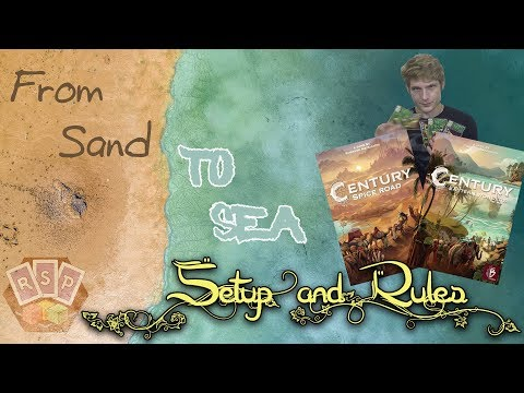 Century From Sand to Sea Setup & Rules