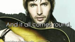 James blunt - One of the brightest stars (with lyrics)