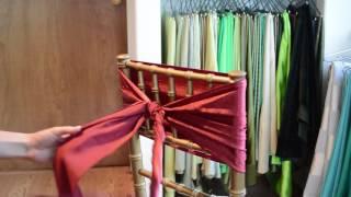 Rosette Chair Tie