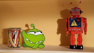 Robo Friend | Om Nom Stories | Funny Cartoons For Kids | Cut The Rope